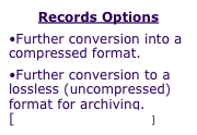 Records Options